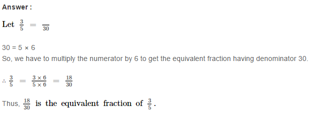 Fraction RS Aggarwal Class 6 Maths Solutions CCE Test Paper 9.1