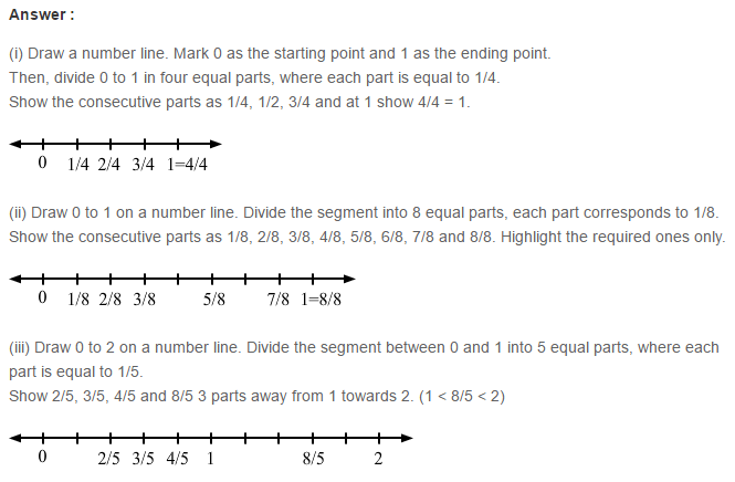 Fraction RS Aggarwal Class 6 Maths Solutions Exercise 5B 8.1