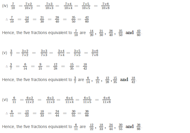 Fraction RS Aggarwal Class 6 Maths Solutions Exercise 5C 1.2