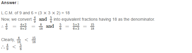 Fraction RS Aggarwal Class 6 Maths Solutions Exercise 5D 14.1