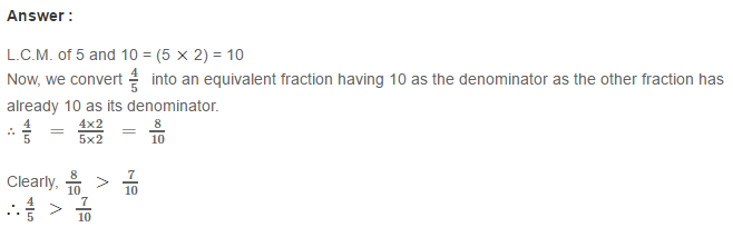 Fraction RS Aggarwal Class 6 Maths Solutions Exercise 5D 15.1