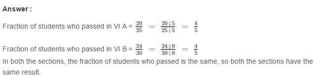Fraction RS Aggarwal Class 6 Maths Solutions Exercise 5D 30.1