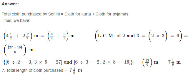 Fraction RS Aggarwal Class 6 Maths Solutions Exercise 5E 17.1