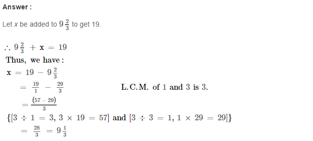 Fraction RS Aggarwal Class 6 Maths Solutions Exercise 5F 22.1