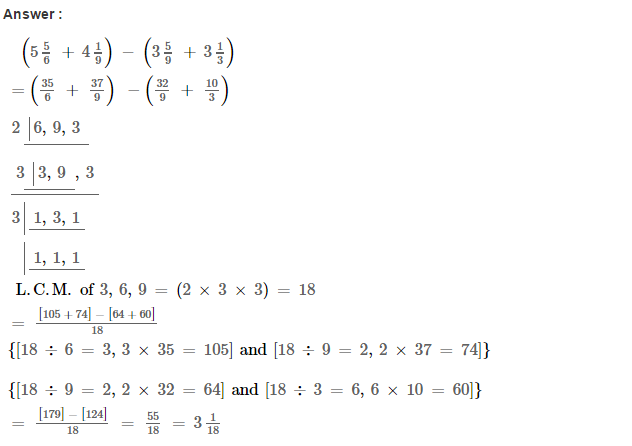 Fraction RS Aggarwal Class 6 Maths Solutions Exercise 5F 24.1