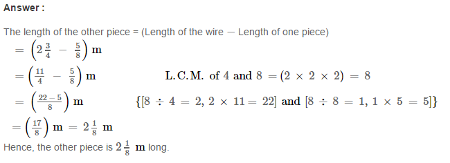 Fraction RS Aggarwal Class 6 Maths Solutions Exercise 5F 29.1