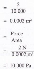 How Pressure is Related to Force and Area 1