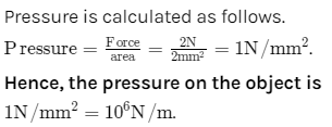 How Pressure is Related to Force and Area 2
