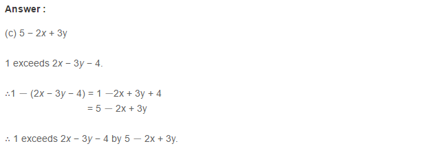 Linear Equation In One Variable RS Aggarwal Class 6 Maths Solutions CCE Test Paper 11.1