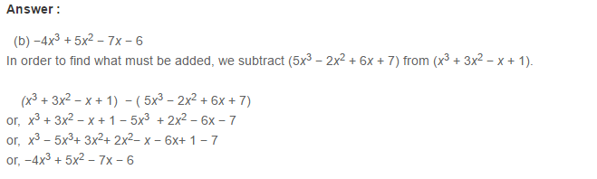 Linear Equation In One Variable RS Aggarwal Class 6 Maths Solutions CCE Test Paper 12.1