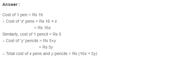 Linear Equation In One Variable RS Aggarwal Class 6 Maths Solutions CCE Test Paper 2.1