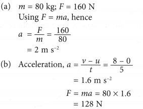 Newtons second law of motion 2
