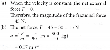 Newtons second law of motion 4