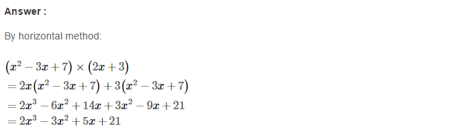 Operations On Algebraic Expressions RS Aggarwal Class 8 Maths Solutions Ex 6B 15.1