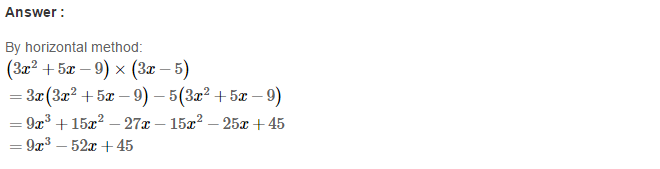 Operations On Algebraic Expressions RS Aggarwal Class 8 Maths Solutions Ex 6B 16.1