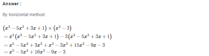 Operations On Algebraic Expressions RS Aggarwal Class 8 Maths Solutions Ex 6B 22.1