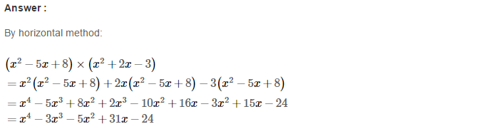Operations On Algebraic Expressions RS Aggarwal Class 8 Maths Solutions Ex 6B 24.1