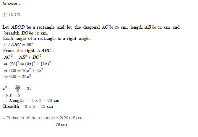 Parallelograms RS Aggarwal Class 8 Maths Solutions Exercise 16B 5.1