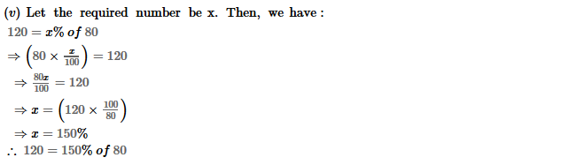 Percentage RS Aggarwal Class 8 Maths Solutions Ex 9C 13.2