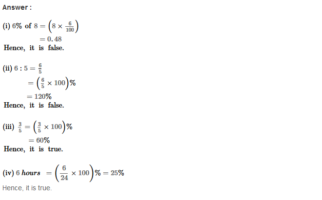 Percentage RS Aggarwal Class 8 Maths Solutions Ex 9C 14.1