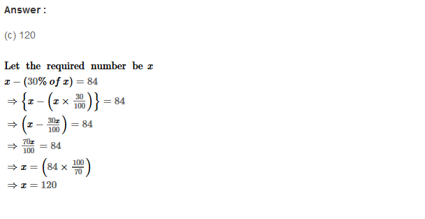 Percentage RS Aggarwal Class 8 Maths Solutions Ex 9C 8.1