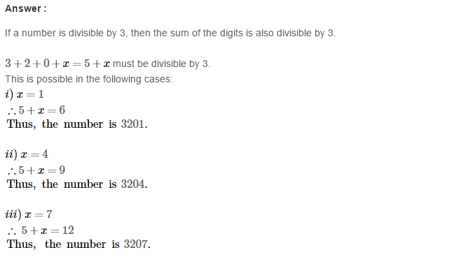 Playing with Numbers RS Aggarwal Class 8 Maths Solutions CCE Test Paper 1.1