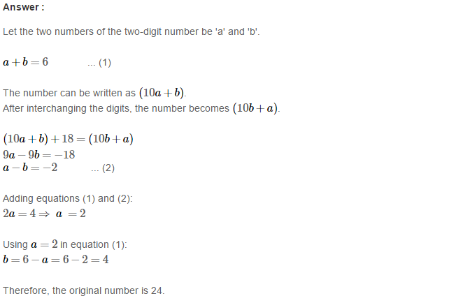 Playing with Numbers RS Aggarwal Class 8 Maths Solutions CCE Test Paper 3.1