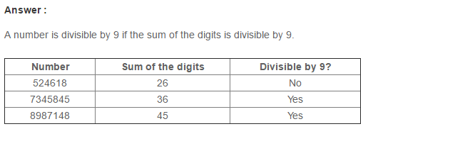 Playing with Numbers RS Aggarwal Class 8 Maths Solutions CCE Test Paper 4.1