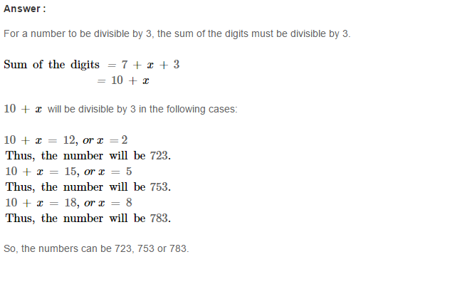 Playing with Numbers RS Aggarwal Class 8 Maths Solutions Ex 5B 6.1