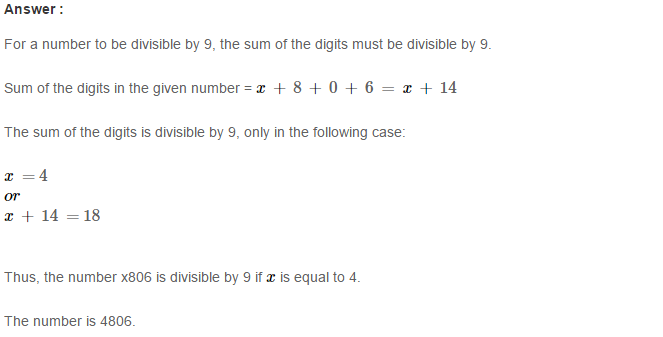 Playing with Numbers RS Aggarwal Class 8 Maths Solutions Ex 5B 8.1