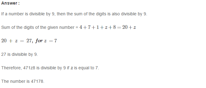 Playing with Numbers RS Aggarwal Class 8 Maths Solutions Ex 5B 9.1