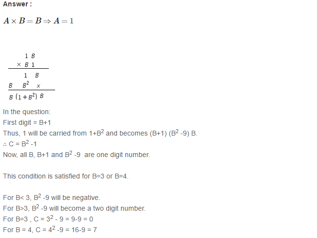 Playing with Numbers RS Aggarwal Class 8 Maths Solutions Ex 5C 7.1