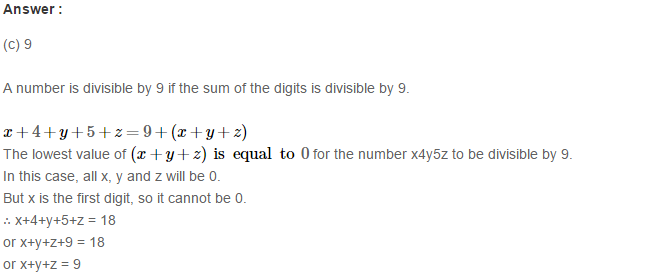 Playing with Numbers RS Aggarwal Class 8 Maths Solutions Ex 5D 7.1