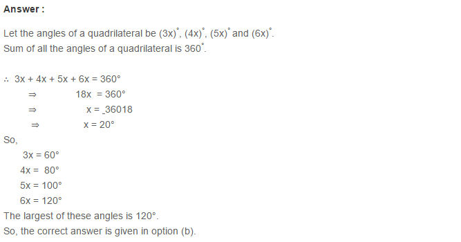 Quadrilaterals RS Aggarwal Class 6 Maths Solutions Exercise 17B 3.1