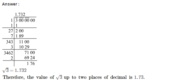 Squares and Square Roots RS Aggarwal Class 8 Maths Solutions CCE Test Paper 4.1