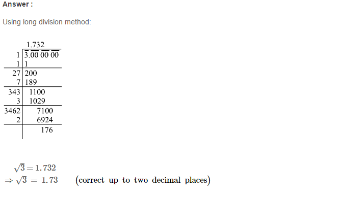 Squares and Square Roots RS Aggarwal Class 8 Maths Solutions Exercise 3F 9.1