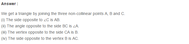 Triangles RS Aggarwal Class 6 Maths Solutions Exercise 16A 1.1