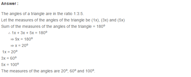 Triangles RS Aggarwal Class 6 Maths Solutions Exercise 16A 3.1