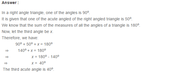 Triangles RS Aggarwal Class 6 Maths Solutions Exercise 16A 4.1