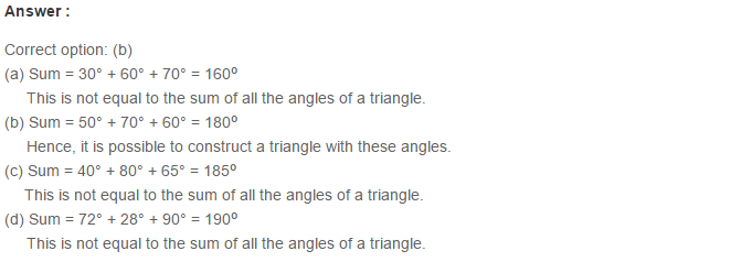 Triangles RS Aggarwal Class 6 Maths Solutions Exercise 16B 2.1