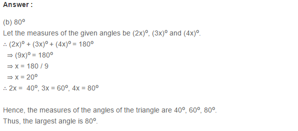 Triangles RS Aggarwal Class 6 Maths Solutions Exercise 16B 3.1