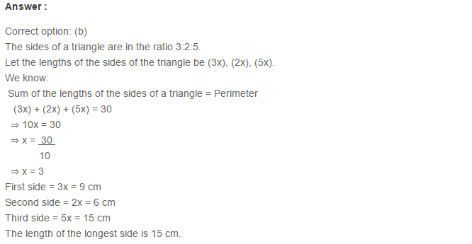 Triangles RS Aggarwal Class 6 Maths Solutions Exercise 16B 8.1