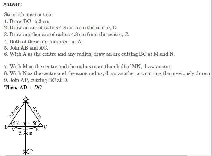 Constructions Rs Aggarwal Class 7 Maths Solutions Exercise 17b