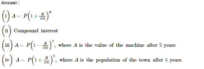 Compound Interest RS Aggarwal Class 8 Maths Solutions CCE Test Paper Q11.1