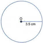 How do you Draw a Circle With a Radius of 3.5cm 1