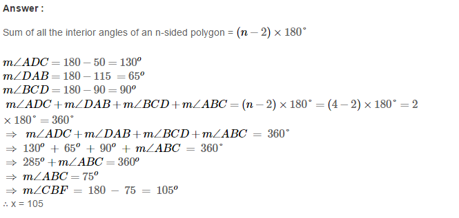 Polygons RS Aggarwal Class 8 Maths Solutions Ex 14A 8.1