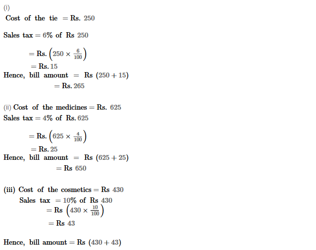 Profit and Loss RS Aggarwal Class 8 Maths Solutions Ex 10C 2.1