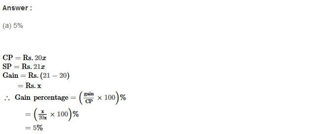 Profit and Loss RS Aggarwal Class 8 Maths Solutions Ex 10D 14.1