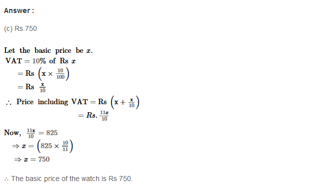 Profit and Loss RS Aggarwal Class 8 Maths Solutions Ex 10D 21.1