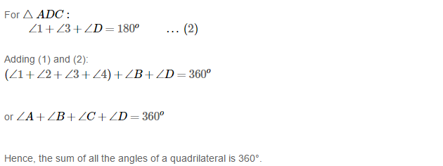 Quadrilaterals RS Aggarwal Class 8 Maths Solutions 3.2